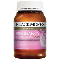 Blackmores Preganancy & Breastfeeding Gold 180 Capsules