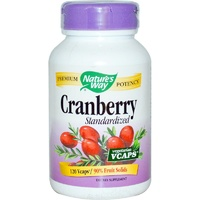 Nature's Way Cranberry Standardised 120 Veggie Capsules