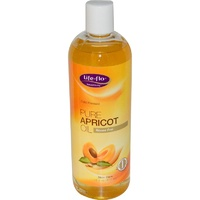 Life Flo Health Pure Apricot Oil Skin Care 473 ml 16 flo oz