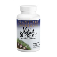 Planetary Herbals Maca Supreme 600 mg 100 Capsules - Herbal Supplement