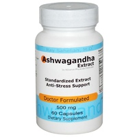 Advance Physician Formulas., Ashwagandha Extract, 500 mg, 60 Capsules