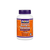 Now Foods, Acetyl-L Carnitine, 500 mg, 100 VCaps