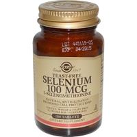 Solgar Selenium Yeast Free 100 mcg 100 Tablets - Dietary Supplement