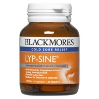 Blackmores Lyp-Sine Cold Sore Relief 30 Tablets - Dietary Supplement