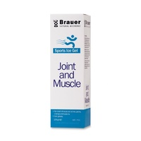 Brauer Natural Medicine, Arnicaeze, Joint & Muscle Gel, Sports Ice, 100 g