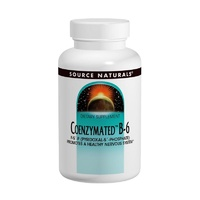 Source Naturals Coenzymated B-6 100 mg 60 Tablets - Dietary Supplement