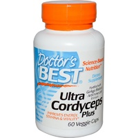 Doctor's Best, Ultra Cordyceps Plus, 60 Veggie Capsules