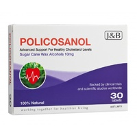 Johnson & Barana, Policosanol, 10 mg, 30 Tablets ... VOLUME DISCOUNT