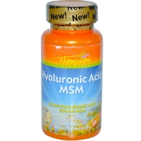 Thompson Hyaluronic Acid-MSM 30 Enteric Coated Capsules