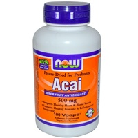 Now Foods, Acai, 500 mg, 100 Vcaps