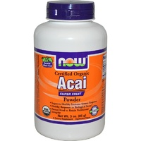 Now Foods, Acai, Powder, Certified Organic, 85 g, 3 oz