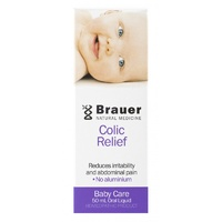 Brauer Natural Medicine, Baby & Child, Colic Relief, 50 ml