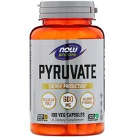 Now Foods Sports Calcium Pyruvate 1000 mg 90 Tablets