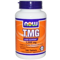 Now Foods, TMG, 1000 mg, 100 Tablets ... VOLUME DISCOUNT