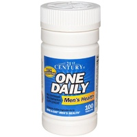 21st Century Health Care, One Daily, Men's Daily, 100 Tablets