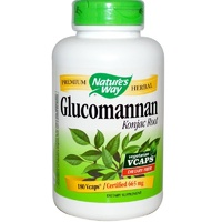 Nature's Way, Glucomannan Konjac Root, 665 mg, 180 Vcaps