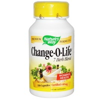 Nature's Way, Change-O-Life, 7 Herb Blend, 440 mg, 100 Capsules