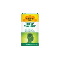 Country Life, Gluten Free, Sharp Thought, 30 Capsules