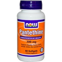 Now Foods, Pantethine, 300 mg, 60 Softgels