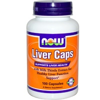 Now Foods, Liver Caps, 100 Capsules ... VOLUME DISCOUNT
