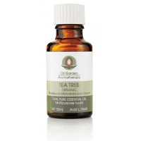 Oil Garden Aromatherapy Tea Tree Oil Organic 25 ml