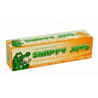 Nature's Goodness, Snappy Jaws Toothpaste, for Kids, Orange, 75 g