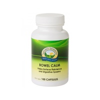 Nature's Sunshine, Bowel Calm, 375 mg, 100 Capsules