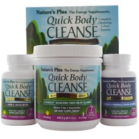 Nature's Plus Quick Body Cleanse 7 Day Program 3 Part Program