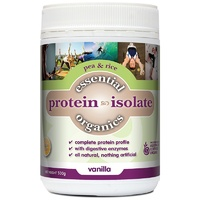 Phyto Therapy Essential Organics Pea & Rice Protein Isolate Vanilla 500g