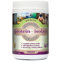Phyto Therapy Essential Organics Pea & Rice Protein Isolate Natural 500g