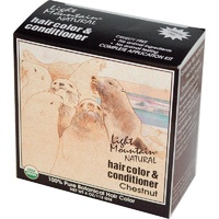Light Mountain, Organic Hair Color & Conditioner, Chestnut, 113 g, 4 oz