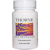 Thorne Research Zinc Picolinate 60 Veggie Capsules