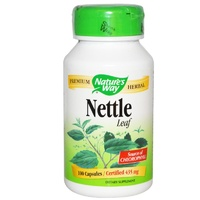 Nature's Way, Nettle Leaf, 435mg, 100 Capsules ... VOLUME DISCOUNT