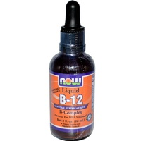 Now Foods, Liquid B-12, B Complex, 60 ml, 2 fl oz ... VOLUME DISCOUNT