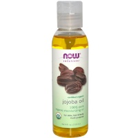 Now Foods, Solutions, Certified Organic, Jojoba Oil, 118 ml, 4 fl oz