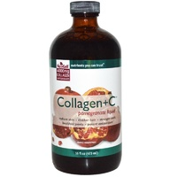 Neocell Collagen + C  Pomegranate Liquid  473ml - Dietary Supplement