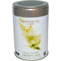 Hampstead Tea, Organic, Fairtrade, Green Tea, 100 g, 3.53 oz