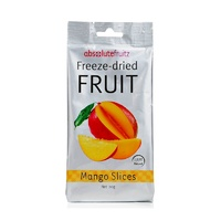 Absolute Fruitz, Freeze-Dried Fruit, Mango Slices, 20 g