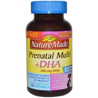 Nature Made Prenatal Multi + DHA 90 Softgels - Dietary Supplement
