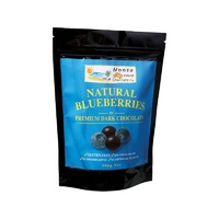 Noosa Natural Chocolate Co., Blueberries in Dark Chocolate, 300 g