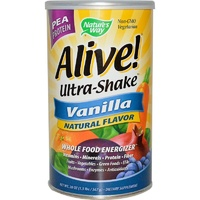Nature's Way, Alive! Ultra-Shake, Vanilla Flavor, 21 oz, 585 g