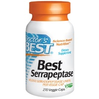 Doctor's Best Serrapepetase 270 VCaps - Dietary Supplement