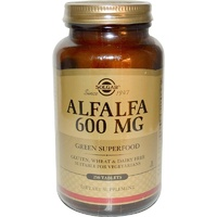 Solgar, Alfalfa, 600mg, 250 Tablets