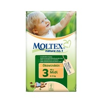 Moltex Nature no.1, Midi Nappies, 4-9 Kg, Single Pack, 40 Nappies