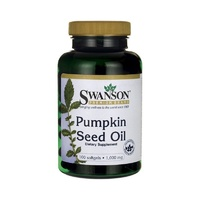 3 x Swanson Premium Pumpkin Seed Oil 1000mg 100 Softgels