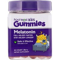 Natrol, Gummies, Melatonin, Strawberry, 10 mg, 90 Count
