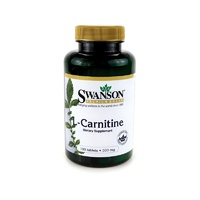 Swanson Premium L-Carnitine 500mg 100 Tablets