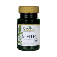 Swanson Premium 5-Htp 50mg 60 Capsules - Dietary Supplement
