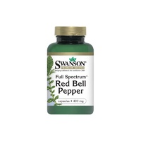 Swanson Premium Full-Spectrum Red Bell Pepper 400 mg 60 Capsules