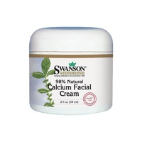Swanson Premium Calcium Facial Cream, 98% Natural